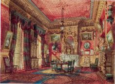 Princess Mathilde's Empire-dining room at 24 rue de Courcelles