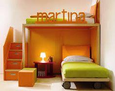 Двухуровневая кровать плюс место для хранения в ступенях