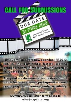 CALL FOR FILMS | APPEL À FILMS : IIFF International Images Film Festival for Women 2013 (Harare)