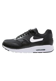 AIR MAX 1 ULTRA ESSENTIALS - Sneakers - black/white/pure platinum