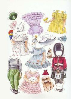 Бумажные куклы  Лилибет (королева Елизавета II в детстве)