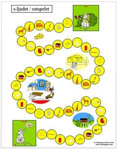 Picture Swedish Language, Speech And Language, Pre School, Grade 1, Speech Therapy, Kindergarten, Homeschool, Montessori, Teaching