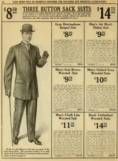 Catalogue no. spring/summer / R. Macy & Co. Sack Suit, Hobble Skirt, Merry Widow, Old Ads, Fashion Plates, New Model, Vintage Signs, Dapper, 1930s