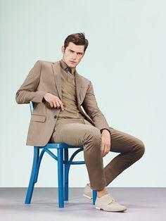 HUGO Spring 2013 feat. model Sean O'Pry.