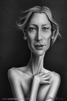 Cate Blanchett by andre koekemoerr - www.remix-numerisation.fr - Rendez vos souvenirs durables ! - Sauvegarde - Transfert - Copie - Restauration de bande magnétique Audio