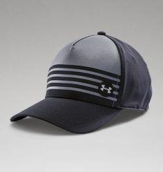 e7d5f42a8fb Men s UA Striped Out Low Crown Stretch Fit Cap