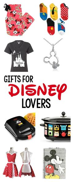 Whether its for Christmas, a birthday or another special occasion, if youre looking for great gifts for Disney lovers, here are 15 great ones! #disney #disneygifts #giftideas