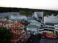 Playland in Rye, new york. We grew up going here every summer. So many happy memories here.