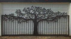 Oak Tree Driveway Gate