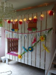 Play house bunk beds