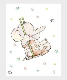 Take a look at this Swinging in the Stars Print on zulily today!