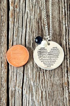 I Love Adoption Necklace
