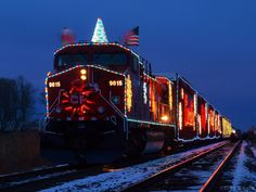 Canadian Pacific Christmas train