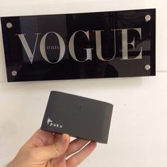 Puku is in the Building @Vogue Italia #PukuS8Charger #TeamPuku