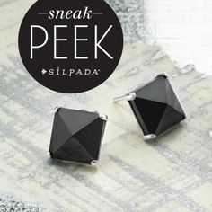 """Trending: Pyramid-cut jewels! """"Like"""" if you can't wait to nab these beauties from our spring line! Coming out Feb 20th"""