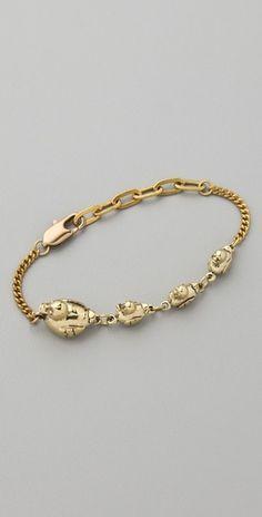 ducks in a row bracelet from monserat de lucca, $62
