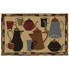 Mohawk® Home Coffee Pot Shuffle Kitchen Rug