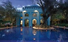 Es Saadi hotel, Marrakech