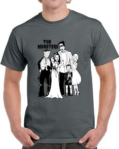 The Munsters  Adam  Family T Shirt