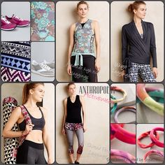 Freshen up your gym bag with ANTHROPOLOGIE  Activewear.  StyleD8