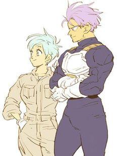 Future Trunks & Future Bulma.