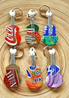 recycled soda can guitar