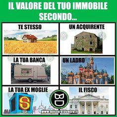 Il valore del tuo #immobile Seguici su youtube/bastardidentro #bastardidentro #casa www.bastardidentro.it