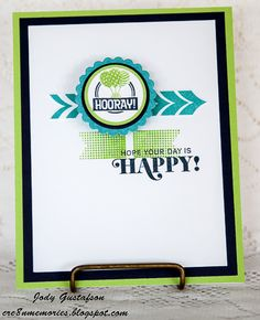 Cre8n' Memories: Put a Little Spring in Your Card