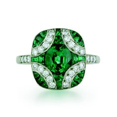 Kwiat Emerald and Diamond Ring  well,,,if you insist,,,,