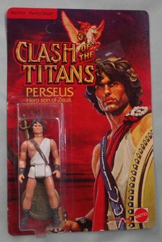 An action figure of Persues, son of Jupiter. I included Perseus, not because he is similar to Jupiter, but rather he is the opposite and his son.