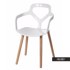 Krzesło Nox Wood białe Sit Back And Relax, Chairs, Furniture, Design, Home Decor, Decoration Home, Room Decor, Tire Chairs, Home Furniture