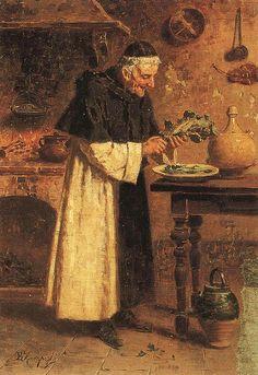 Eugenio Zampighi (1859-1944) - frate cuciniere   EUGENIO ZAMPIGHI (Modena, 1859 – Maranello, 1944)   #TuscanyAgriturismoGiratola