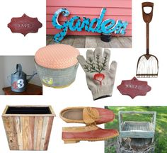 We've found our favorite #vintage and #secondhand finds for a perfect spring garden