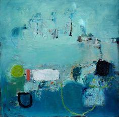 Contemporary Art Original Oil Painting Large by JennyGrayArt, $580.00…