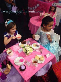 Tea party fun www.jolasjoyfulevents.com