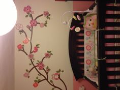 Owl baby Room, maybe a little less pink