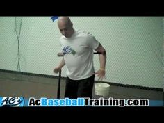 ▶ Baseball Hitting Drills To Help Kids - Baseball Bat Twist Drill - YouTube