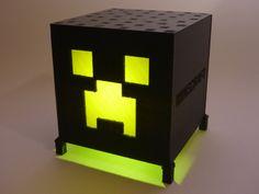 Minecraft Creeper Lamp Light Minecraft by RickRoemerLighting, $34.95