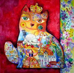 """""""Cat"""" par Oxana Zaika"""