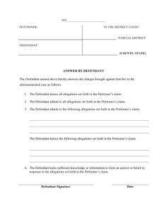 15 best Legal Pleading Templates images on Pinterest | Law, Models ...