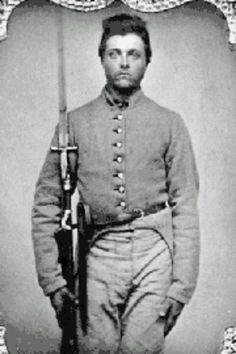 Casey, Co. I, Alabama Infantry. Died in hospital in April 1862 after the Battle of Shiloh. Confederate States Of America, America Civil War, Battle Of Shiloh, Civil War Books, Southern Heritage, Civil War Photos, American History, Rebel Flags, Historical Pics
