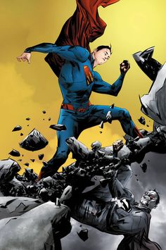 Action Comics #40 - Superman by Jae Lee *