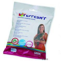 Savic Refresh'r Wipes Sensitive -puhdistusliinat
