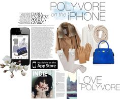 """""""Polyvore on the iPhone"""" by child-of-the-waves ❤ liked on Polyvore"""