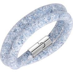 Eisblaues Swarovski Armband Stardust
