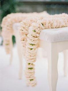 Beautiful Light Pink Wedding Flower for Traditional Indian Ceremony | #weddingflowers #pinkwedding #flooraldesign #weddingdetails #weddingideas
