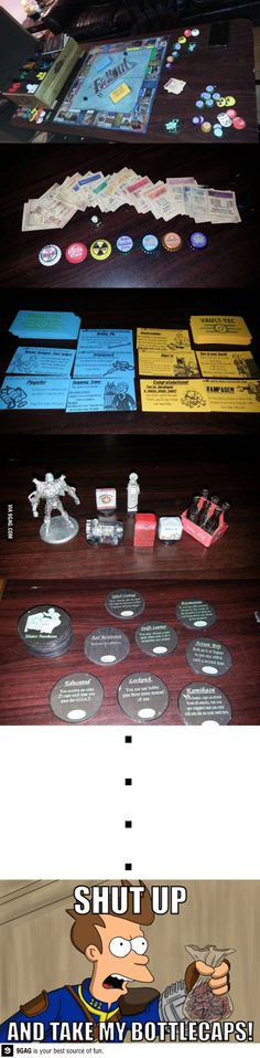 Monopoly - Fallout edition........ I want!