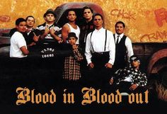 Blood in Blood Out Gangster Style, Cholo Style, Gangster Movies, Chicano Movies, Chicano Art, Paz Hippie, Estilo Chola, African American Movies, Don Corleone