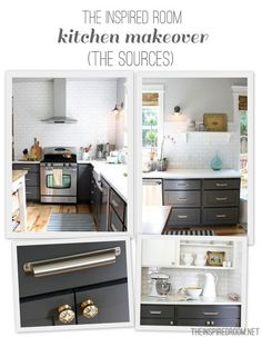 The Inspired Room Kitchen Makeover Sources
