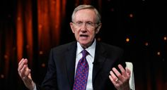 U.S. Senate Majority Leader Harry Reid (D-NV) speaks at the fifth annual Netroots Nation convention at the Rio Hotel & Casino July 24, 2010 ...